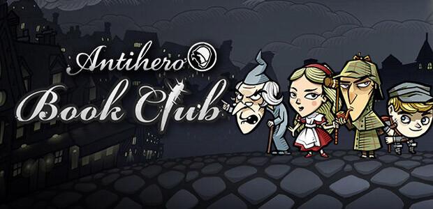 Antihero Book Club Characters - Cover / Packshot