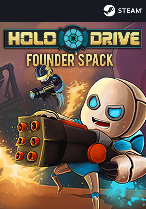 Holodrive - Founder's Pack - Cover