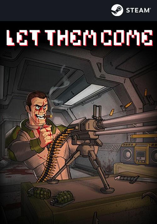 Let Them Come - Cover / Packshot