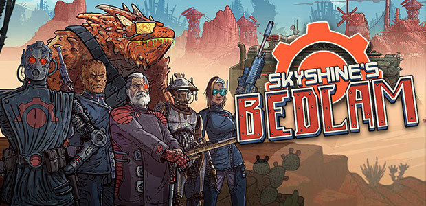 Skyshine's BEDLAM - Cover / Packshot