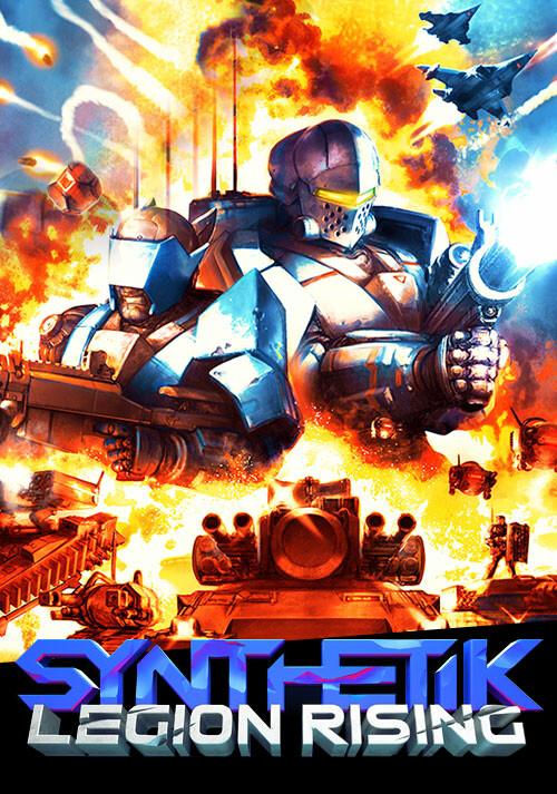 SYNTHETIK: Legion Rising - Cover / Packshot