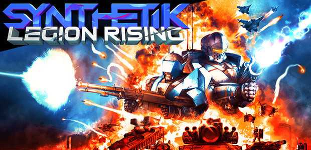 SYNTHETIK: Legion Rising - Cover / Packshot