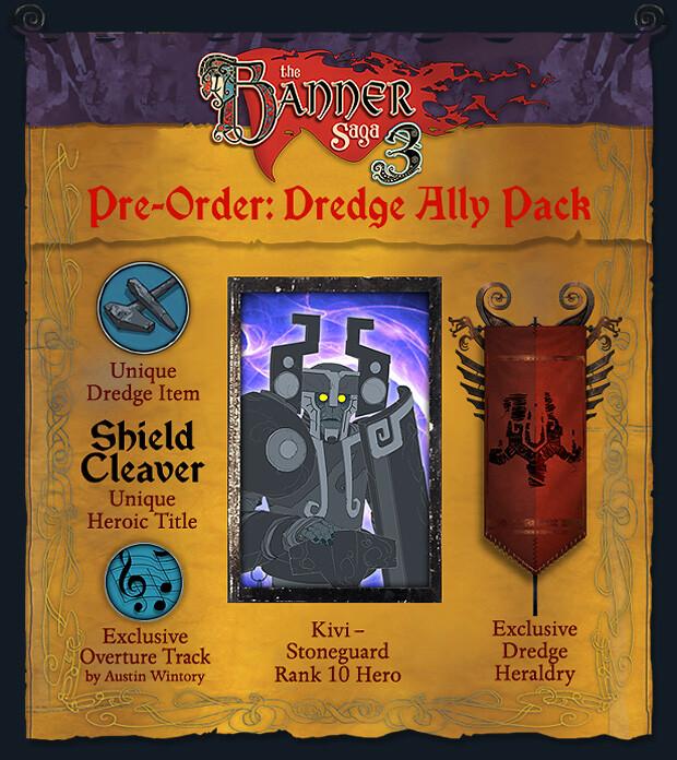 Banner Saga 3 Pre-Order