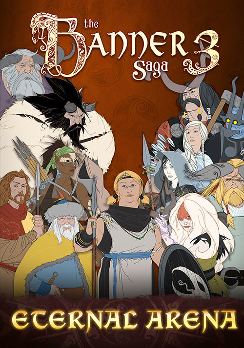 The Banner Saga 3 - Eternal Arena - Cover