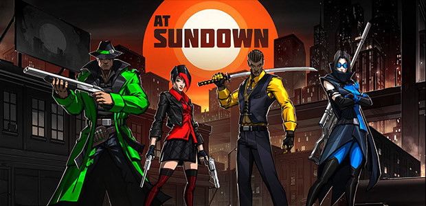 AT SUNDOWN: Shots in the Dark - Cover / Packshot