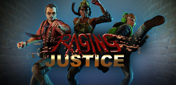 Raging Justice - Cover / Packshot
