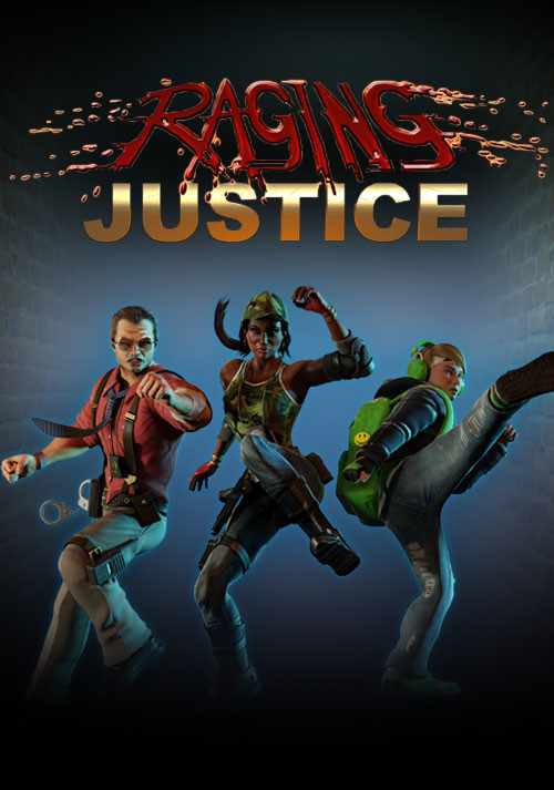Raging Justice - Packshot