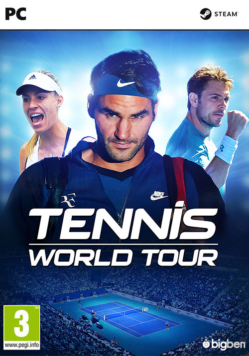 Tennis World Tour - Cover