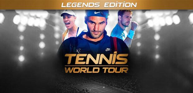 Tennis World Tour Legends Edition - Cover / Packshot