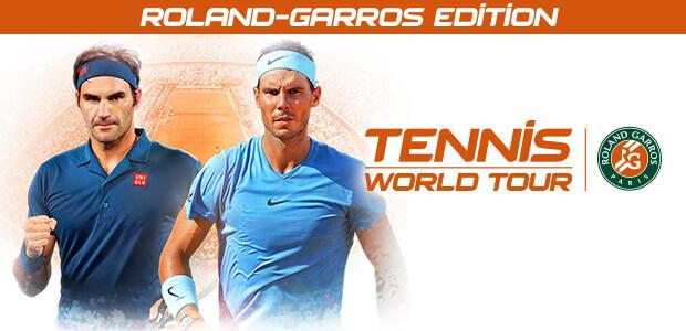 Tennis World Tour - Roland Garros Edition - Cover / Packshot