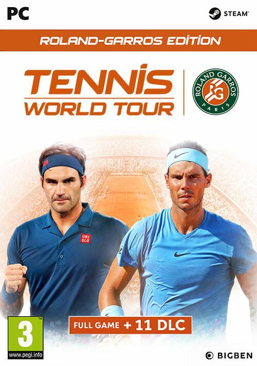 Tennis World Tour - Roland Garros Edition - Cover