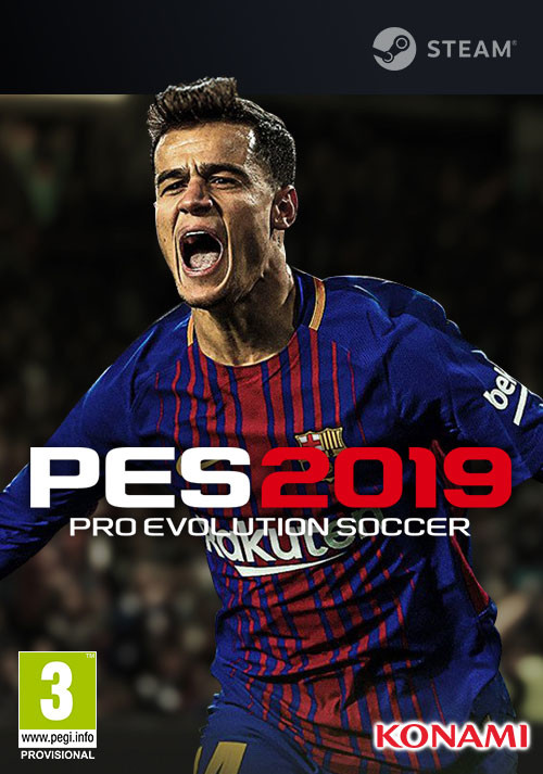 PRO EVOLUTION SOCCER 2019 - Cover / Packshot