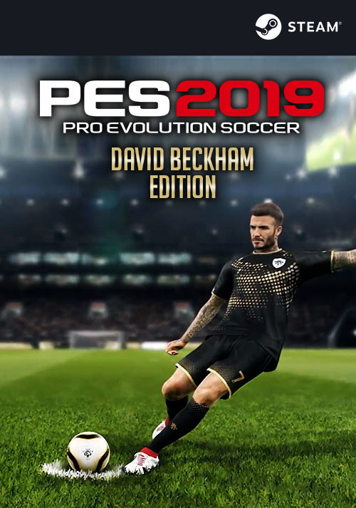 PRO EVOLUTION SOCCER 2019 David Beckham Edition - Cover / Packshot