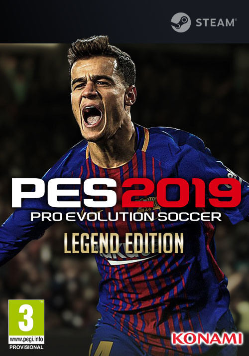 PRO EVOLUTION SOCCER 2019 Legend Edition - Cover