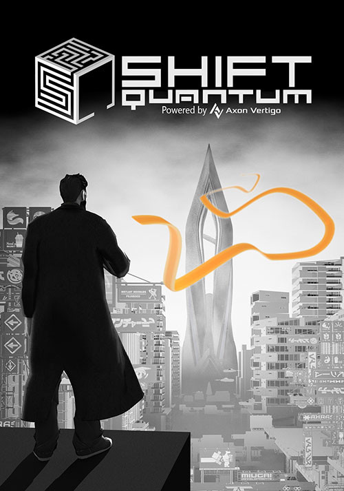 Shift Quantum - Cover / Packshot