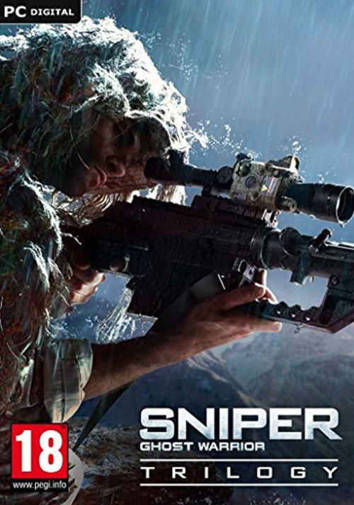 Sniper: Ghost Warrior Trilogy - Cover / Packshot