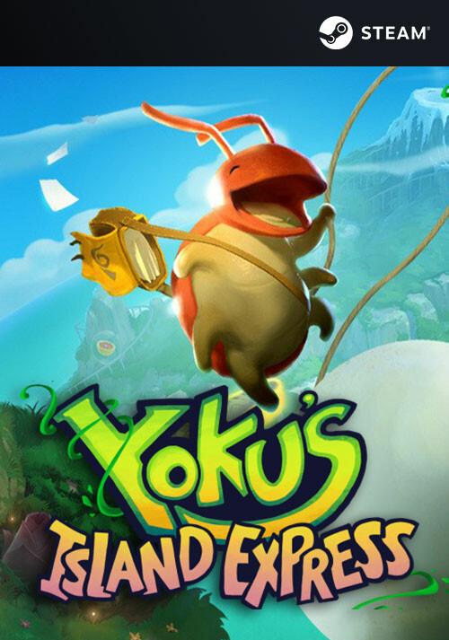 Yoku's Island Express - Cover