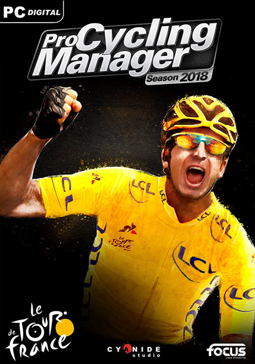 Pro Cycling Manager 2018 - Cover