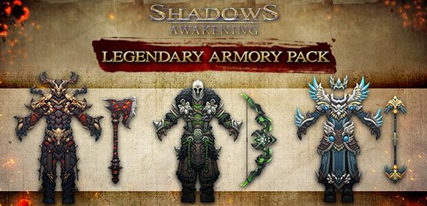 Shadows: Awakening - The Legendary Armour Pack - Cover / Packshot
