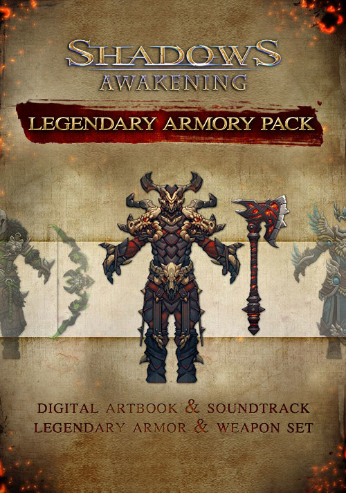 Shadows: Awakening - The Legendary Armour Pack - Cover / Packshot