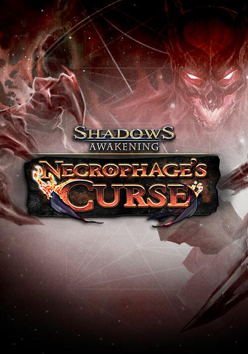 Shadows: Awakening - Necrophage's Curse - Cover / Packshot