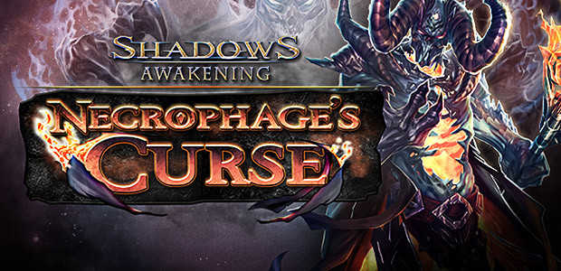 Shadows: Awakening - Necrophage's Curse - Cover / Packshot