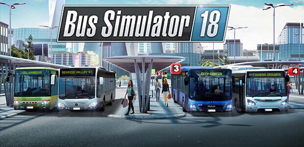 Bus Simulator 18 - Cover / Packshot