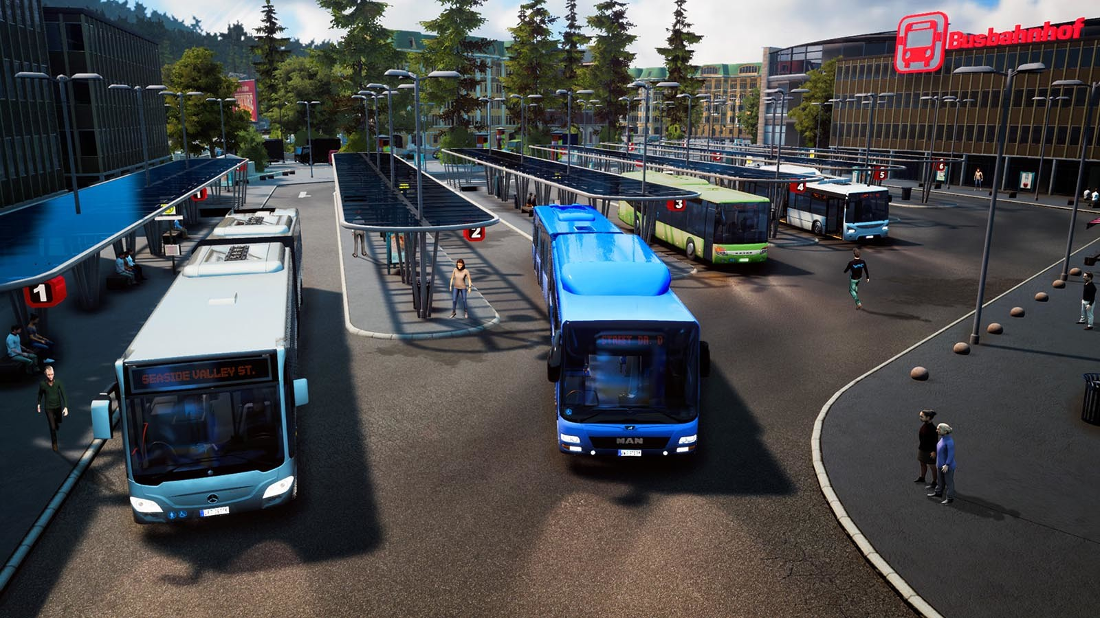 Hands On: Bus Simulator Blends Crazy Taxi, SimCity, and ...