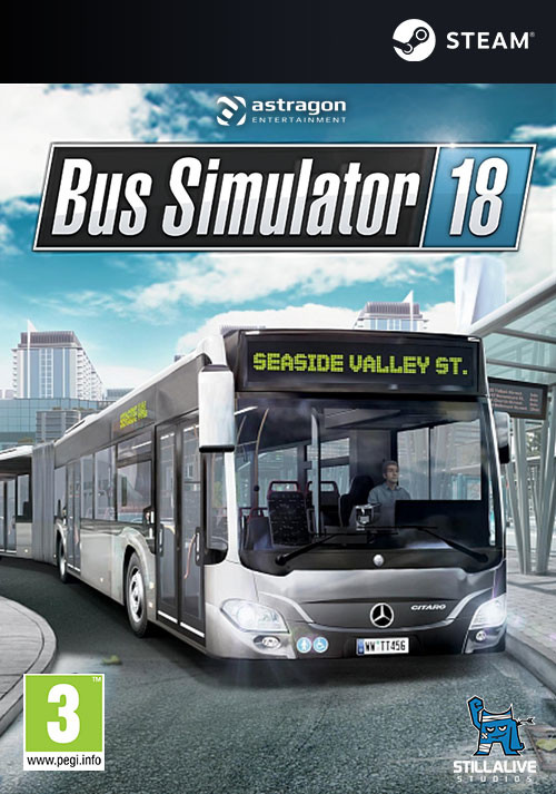 Bus Simulator 18 - Cover / Packshot