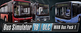 Bus Simulator 18 - MAN Bus Pack 1