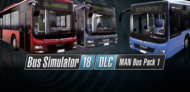 Bus Simulator 18 - MAN Bus Pack 1 - Cover / Packshot
