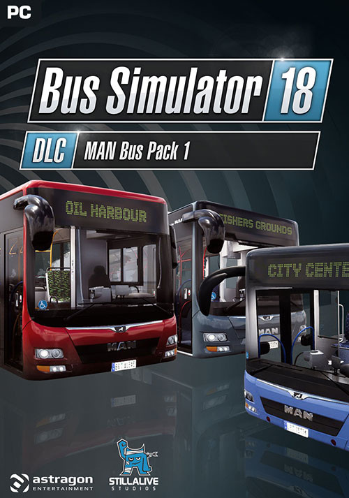 Bus Simulator 18 - MAN Bus Pack 1 - Cover