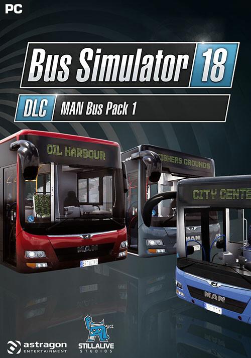 Bus Simulator 18 - MAN Bus Pack 1 - Cover