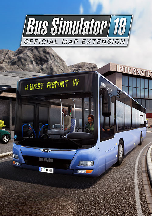 Bus Simulator 18 - Official map extension - Cover / Packshot