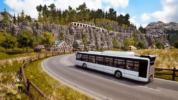 Screenshot6 - Bus Simulator 18 - Official map extension