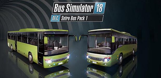 Bus Simulator 18 - Setra Bus Pack 1 - Cover / Packshot