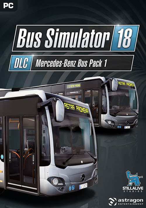 Bus Simulator 18 - Mercedes-Benz Bus Pack 1 - Cover / Packshot
