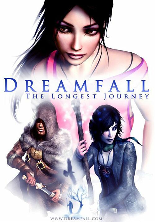 Dreamfall: The Longest Journey - Cover