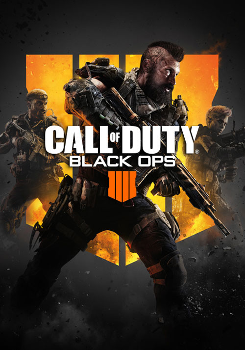 Call of Duty: Black Ops 4 - Cover / Packshot