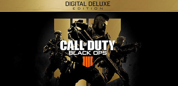 Call of Duty: Black Ops 4 - Digital Deluxe - Cover / Packshot