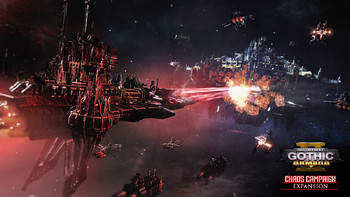 Screenshot1 - Battlefleet Gothic: Armada 2 - Chaos Campaign Expansion