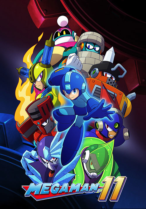 Mega Man 11 - Cover