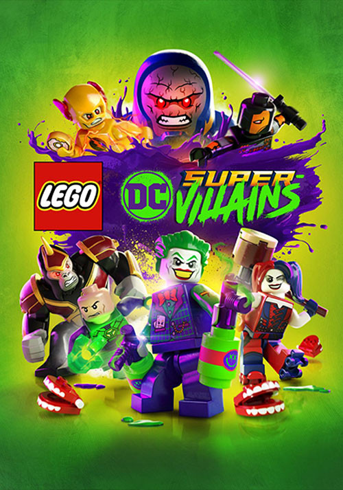 LEGO DC Super-Villains - Cover