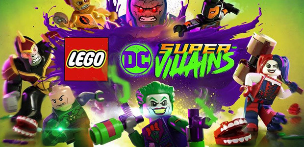 LEGO DC Super-Villains - Cover / Packshot
