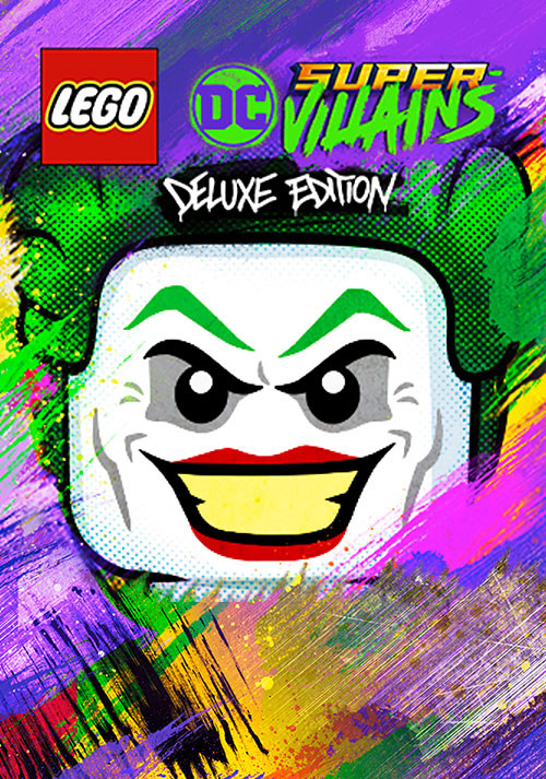 LEGO DC Super-Villains Deluxe Edition - Cover