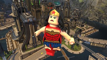 Screenshot1 - LEGO DC Super-Villains Deluxe Edition