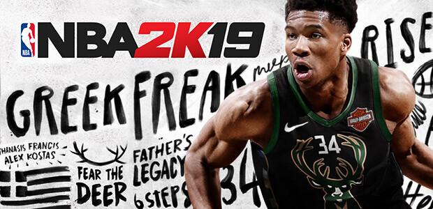 NBA 2K19 - Cover / Packshot