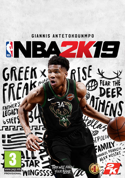 NBA 2K19 - Cover / Packshot