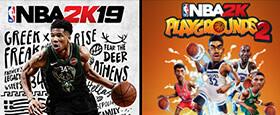NBA 2K19 + NBA 2K Playgrounds 2 Bundle