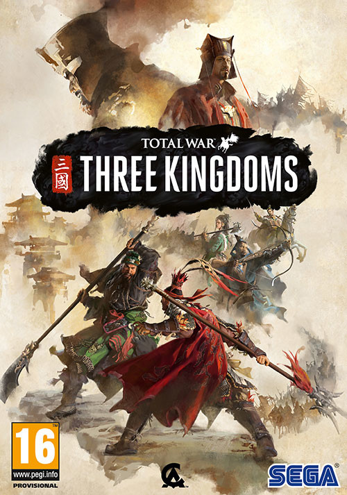 Total War: THREE KINGDOMS - Cover / Packshot
